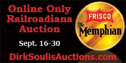 Dirk Soulis Railroadiana Auction