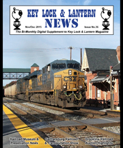 KL&L News Issue 36 CSX train at Gaithersburg
