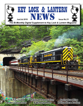 Key Lock & Lantern News Delaware Lackawanna Alco RS3 Nay Aug Tunnel