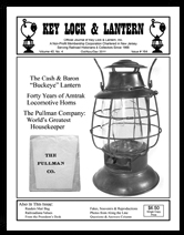 KL&L Issue 164, cash & baron lantern