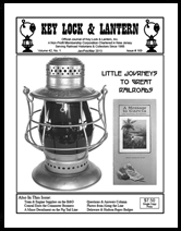 Key Lock & Lantern Issue #169 New York Central Elbert Hubbard Message to Garcia cover