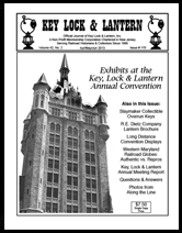 Key Lock & Lantern Issue #170 Delaware & Hudson Building Albany cover