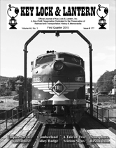KL&L Issue 177 Cover Erie Locomotive